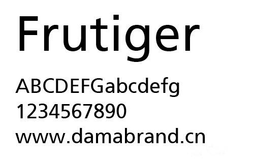 平面设计中最经典英文字体