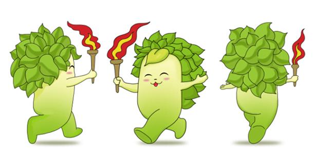 """吉祥物""""榕榕""""以福州市树""""榕树""""为设计主体,演绎为一个活泼可爱,福态"""
